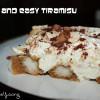 Fast and Easy Tiramisu