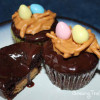 Reese's Peanut Butter Egg Cupcakes