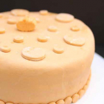 Pumpkin Spice Fondant and Vanilla Cake