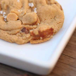 Browned Butter Bacon Chocolate Peanut Butter Sea Salt Cookies