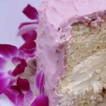 Radiant Orchid Blog hop - Coconut Cheesecake Cake