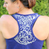 Cricut Design Star - Lace workout tank