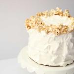 Caramel Popcorn Cake