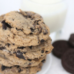 Browned Butter Chewy Cookies and Cream Cookies