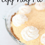 The most amazing Egg Nog Pie recipe