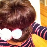 Cats, pink, sock buns, and dry shampoo