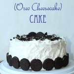Chocolate Oreo Cheesecake Cake