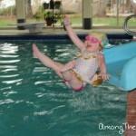 My swimming baby!