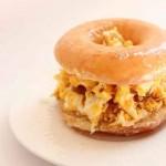 Krispy Kreme breakfast sandwich