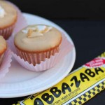 Abba Zabba Cupcake Recipe featured by top US food blog, Among the Young