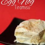 Egg Nog Tiramisu