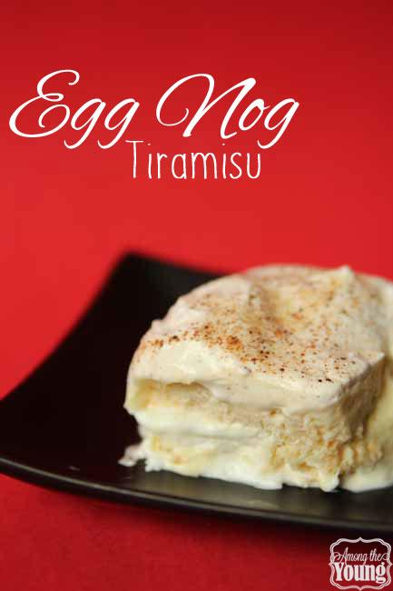 Eggnog Tiramisu