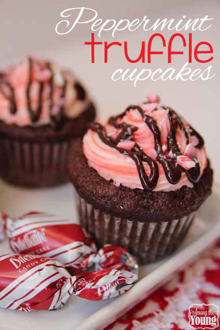 Peppermint Truffle Cupcakes
