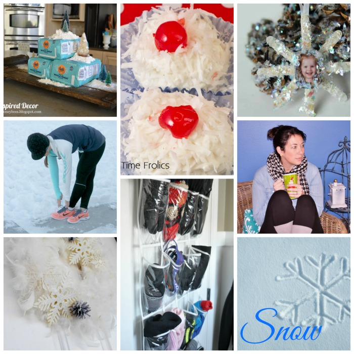 Snow Inspired Blog Hop