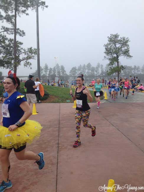 Tips to Run a Disney World Half Marathon featured by top US lifestyle blog, Among the Young