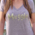 "Expressions Vinyl Harry Potter ""Muggle"" Iron on"