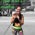 Tips to run a Marathon