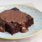 Curry and Sea Salt Chocolate Cake