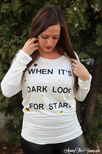 When It's Dark, Look for Stars