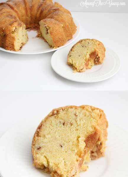 Cinnamon Sour Cream Cake
