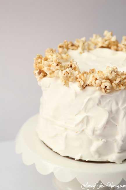 Caramel Corn Cake