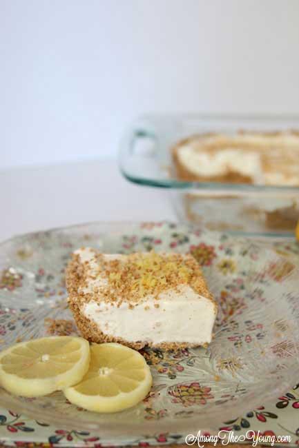 Lemon Ice Cream dessert
