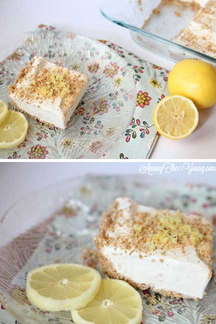 Lemon Ice Cream dessert