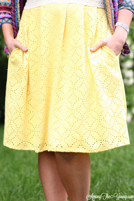 Honey and Lace skirt