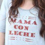 Mama con Leche DIY iron on shirt
