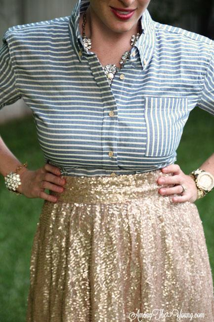 Winnie James striped shirt