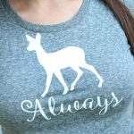 "Harry Potter ""Always"" iron on tee"
