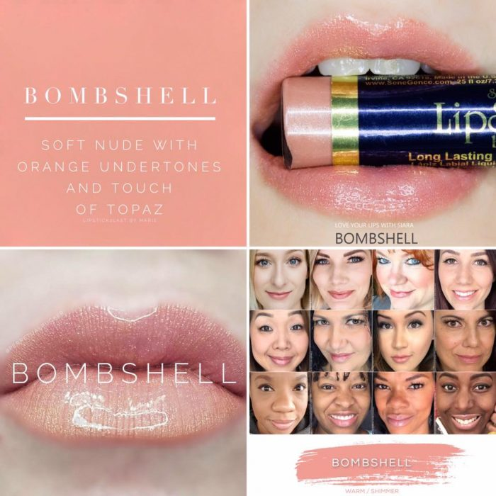 Lipsense Colors featured by top US lifestyle blog and Lipsense distributor, Kaylynn of Among the Young: image of Bombshell