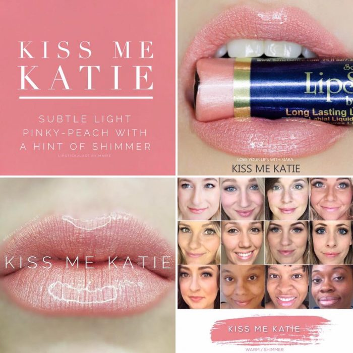 Lipsense Colors featured by top US lifestyle blog and Lipsense distributor, Kaylynn of Among the Young: image of Kiss Me Katie