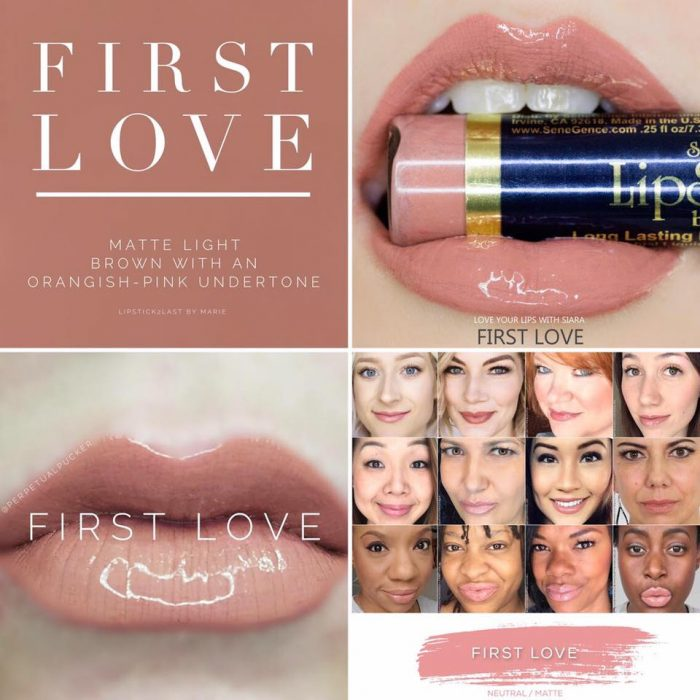 Lipsense Colors featured by top US lifestyle blog and Lipsense distributor, Kaylynn of Among the Young: image of First Love