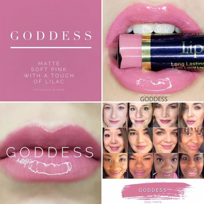 Lipsense Colors featured by top US lifestyle blog and Lipsense distributor, Kaylynn of Among the Young: image of Goddess