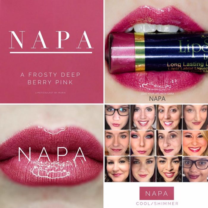 Lipsense Colors featured by top US lifestyle blog and Lipsense distributor, Kaylynn of Among the Young: image of Napa