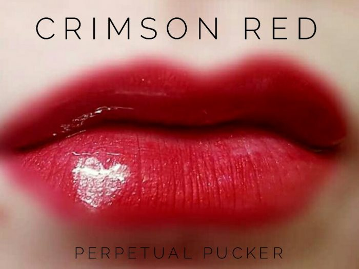 Lipsense Colors featured by top US lifestyle blog and Lipsense distributor, Kaylynn of Among the Young: image of Crimson Red