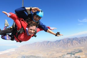 skydiving with Skydive Utah