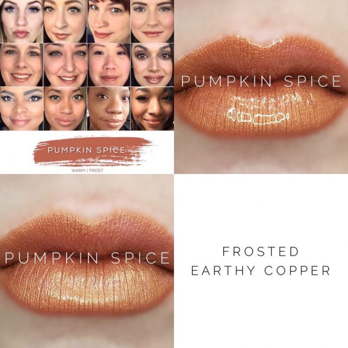 Lipsense Colors featured by top US lifestyle blog and Lipsense distributor, Kaylynn of Among the Young: image of Pumpkin Spice