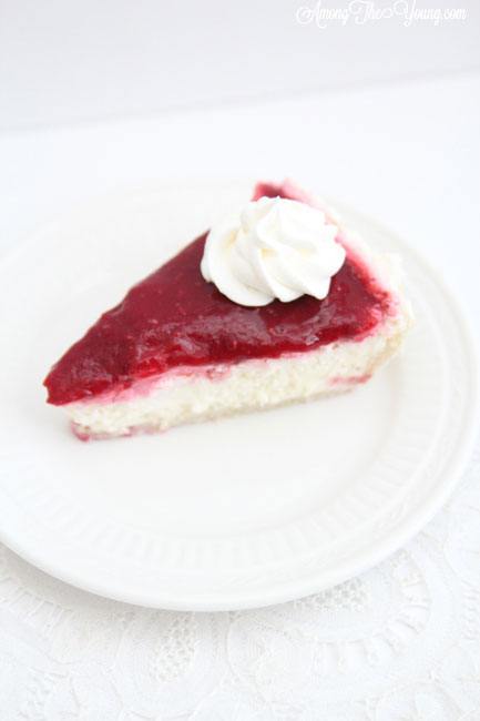 Kneaders raspberry cream cheese pie