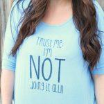 """""""Not Doing it All"""" Cricut vinyl DIY shirt"""
