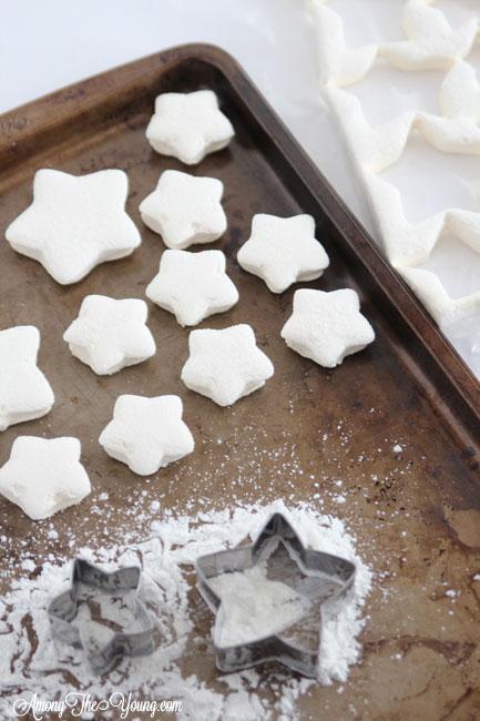 Chocolate Peppermint Mallow Stars