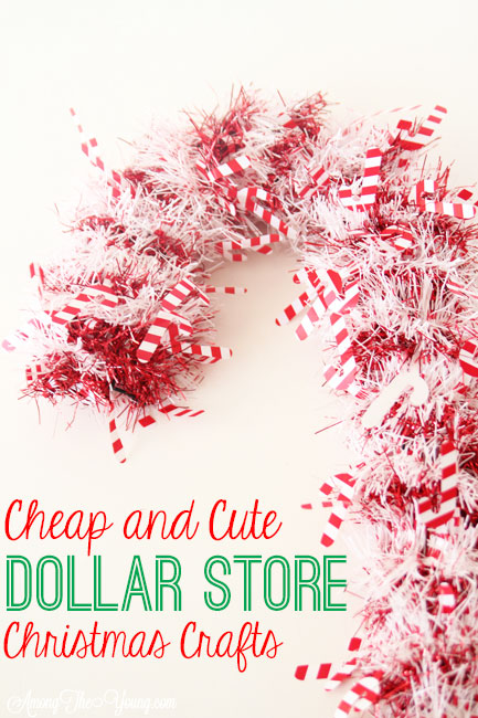 The Best Dollar Store Christmas Crafts Among The Young