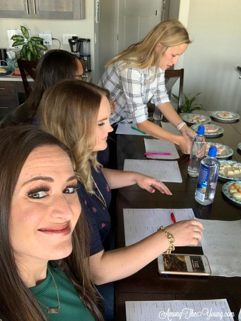 The Best Sugar Cookie in Utah featured by top Utah Foodie blog, Among the Young: image of foodie expert panel