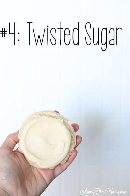 The Best Sugar Cookie in Utah featured by top Utah Foodie blog, Among the Young: image of Twisted Sugar sugar cookie