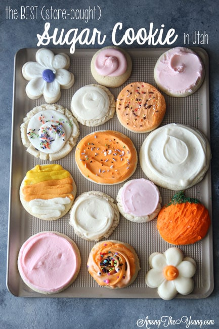 The Best Sugar Cookie in Utah featured by top Utah Foodie blog, Among the Young