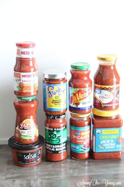 The Best Store bought salsa featured by top US lifestyle blog, Among the Young