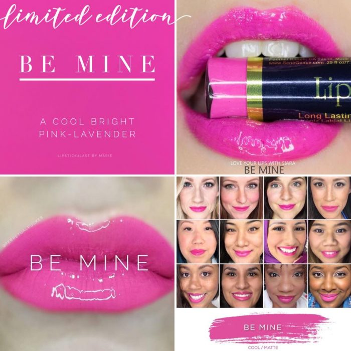 Lipsense Colors featured by top US lifestyle blog and Lipsense distributor, Kaylynn of Among the Young: image of Be Mine