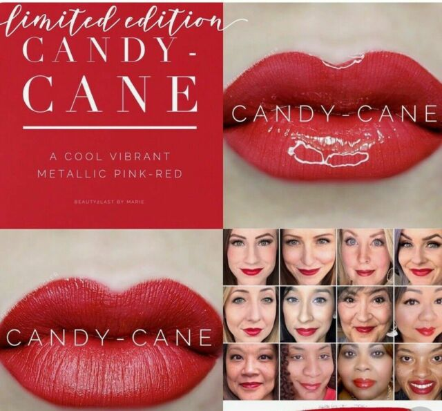Lipsense Colors featured by top US lifestyle blog and Lipsense distributor, Kaylynn of Among the Young: image of Candy Cane