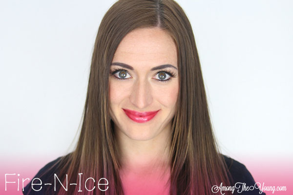 Lipsense Colors featured by top US lifestyle blog and Lipsense distributor, Kaylynn of Among the Young: image of Kaylynn wearing Fire N Ice   Lipsense Colors by popular Utah beauty blog, Among the Young: image of a woman wearing Fire N Ice Lipsense.